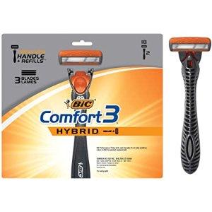 BIC Comfort 3 Hybrid 男士剃须刀套装