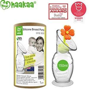 Amazon.com : Haakaa Manual Breast Pump 4oz/100ml, 2019 New Style : Baby