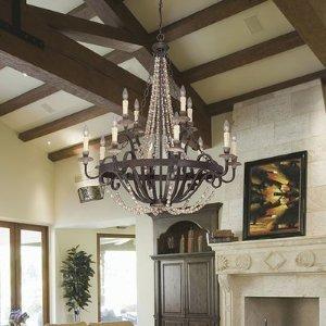 Birch Lane™ 12-Light Candle Style Chandelier & Reviews | Wayfair