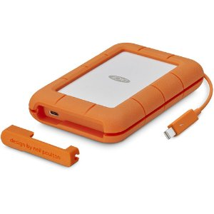 LaCie 500GB Rugged Thunderbolt External SSD