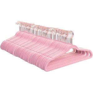 $15.38Better Homes & Gardens 丝绒无痕防滑衣架 90个 粉色