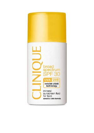 Clinique Broad Spectrum SPF 30 Mineral Sunscreen Fluid for Face | belk