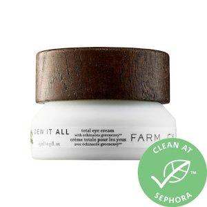 Dew It All Total Eye Cream with Echinacea GreenEnvy™ - Farmacy | Sephora