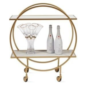 Russo Bar Cart | Luxe for Less Tableware | Luxe For Less | Z Gallerie