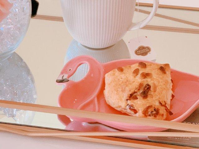 小仙女的下午茶-自制蔓越莓巧克力司康饼