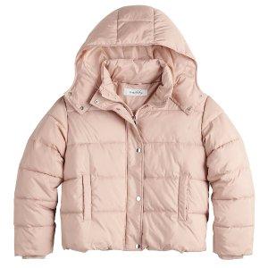 Sebby 大童短款冬季保暖外套 4色可选