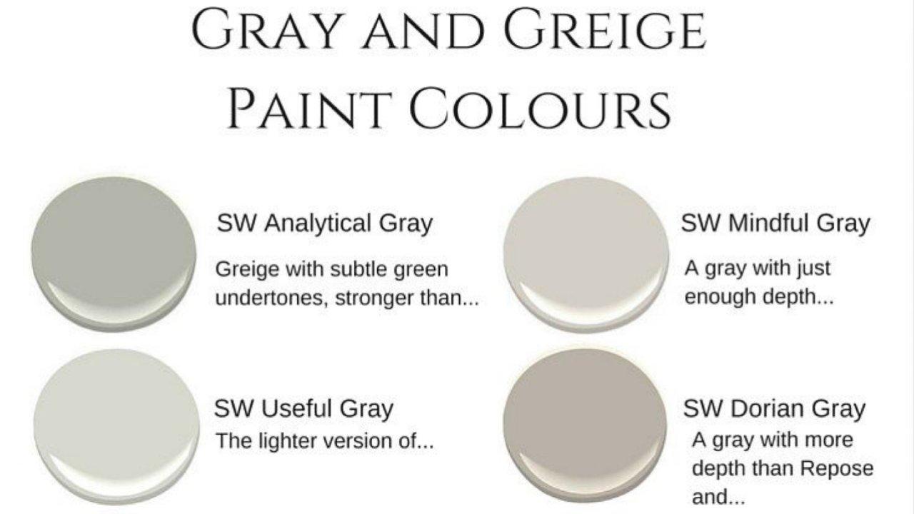 选择灰色油漆的小窍门