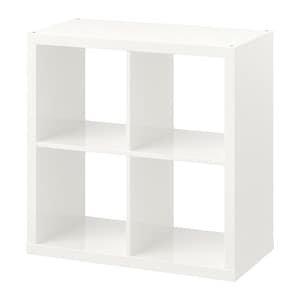 KALLAX Shelf unit - high gloss white - IKEA