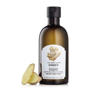 Ginger Shampoo | Shampoo for Dry Scalp | The Body Shop®