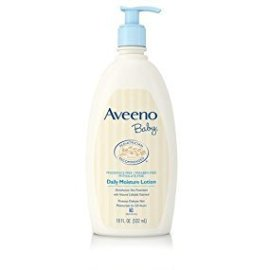 Amazon.com: Aveeno Baby Daily Moisture Lotion with Natural Colloidal Oatmeal & Dimethicone, Fragrance-Free, 18 fl. oz: Health & Personal Care