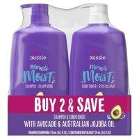 Aussie Miracle 大容量滋润洗发水护发素套装