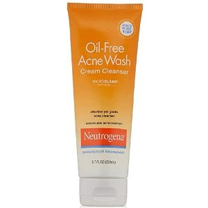 Amazon.com : Neutrogena Oil-Free Acne Wash Cream Cleanser : Beauty