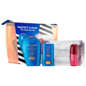 Protect and Play Set: The Active Sunscreen Set - Shiseido | Sephora