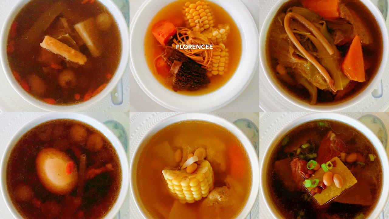 Instant Pot养生汤品合集,12款好汤每天一款不重样🍲😋