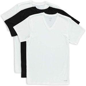 $19.99Calvin Klein Men's Cotton Classics Multipack V Neck T-Shirts