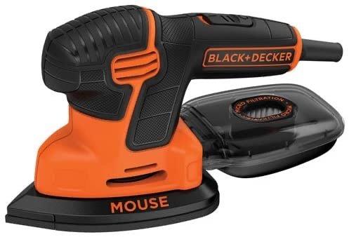 BLACK+DECKER 精细打磨电动磨砂机 抛光机