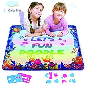 Hierceson Water Drawing Mat for Kids