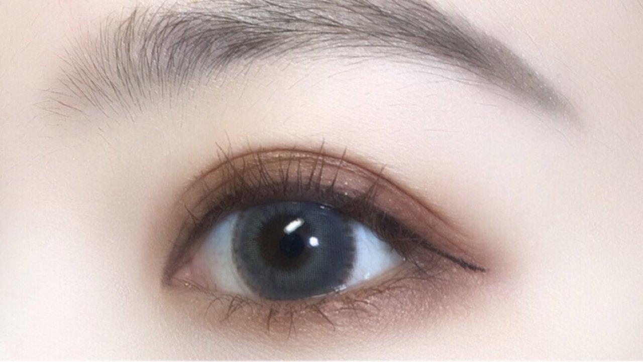 新手眼妆教程️⛄️手把手教你画显白秋冬系眼影