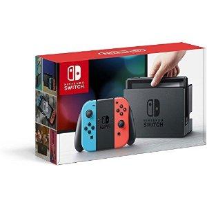 Amazon.com: Nintendo Switch – Neon Red and Neon Blue Joy-Con: Gateway