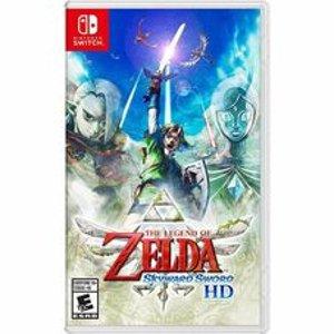 he Legend of Zelda: Skyward Sword HD