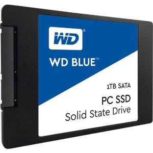 $94.99 冷数据主角WD Blue 3D NAND SATA 蓝盘 1TB SSD