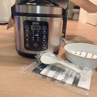 减糖又便宜的电饭锅-Aroma Smart Carb