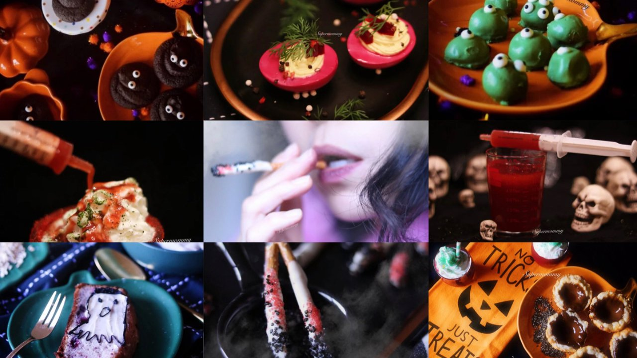 😱Beware!六款万圣节搞怪美食与饮品