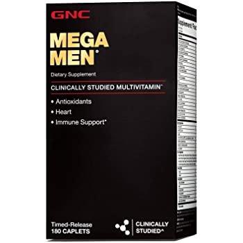 GNC Mega 男士综合维生素 180片