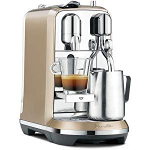 Amazon.com: Breville Nespresso Creatista Single Serve Espresso Machine with Milk Auto Steam Wand, Black: Gateway