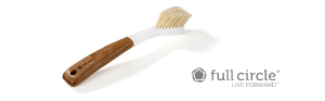 Amazon.com: Full Circle Laid Back 2.0 Dish Brush with Bamboo Handle & Replaceable Head: Home & Kitchen