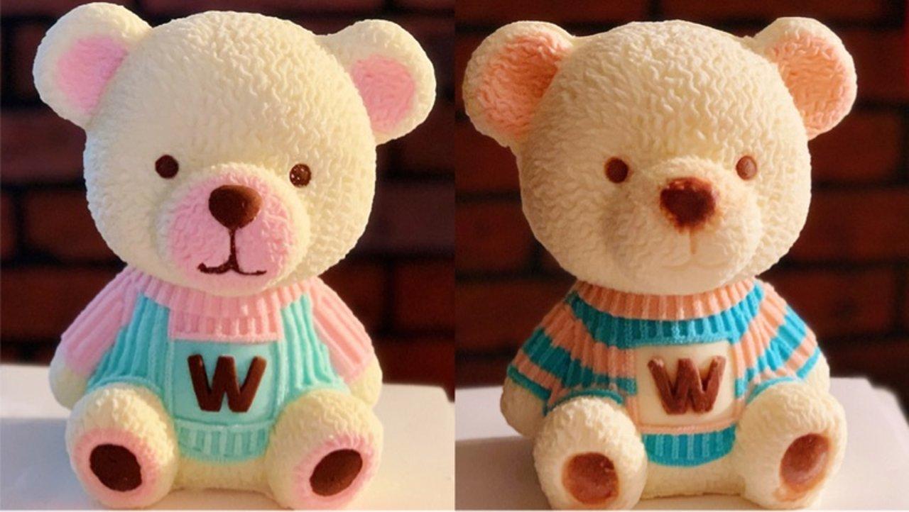 立体小熊蛋糕(第三代小熊模具)