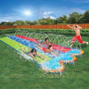 BANZAI 3色可喷水滑梯垫,16英尺长