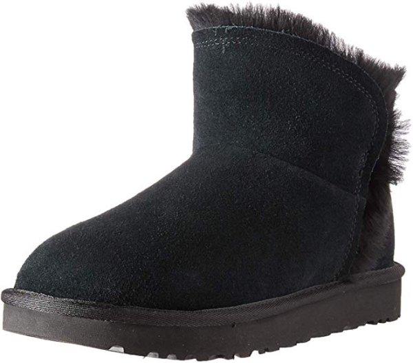 UGG 翻毛短款雪地靴