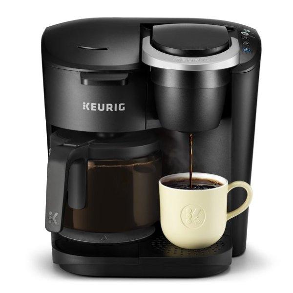 K-Duo 滴漏及胶囊咖啡2合1咖啡机