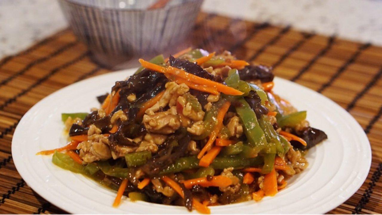 【最受欢迎的下饭菜】鱼香肉丝,老少皆宜的家常菜
