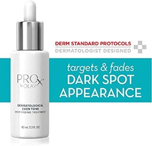 Amazon.com : Dark Spot Corrector Treatment for Even Skin Tone by Olay ProX, with Vitamin B3 & Sea Kelp Extract, 1.3 Fl Oz : Facial Treatments And Masks : Beauty
