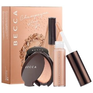 $20BECCA Glow on the Go Highlighter Set