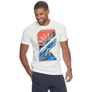 白菜价:Kohl's官网 adidas男款Logo运动T恤 尺码全