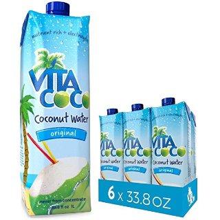$19.52 健康又好喝Vita Coco 天然有机椰子水33.8oz家庭装 6瓶