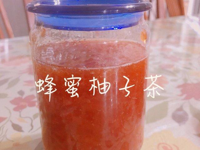 自制养颜蜂蜜柚子茶🍯