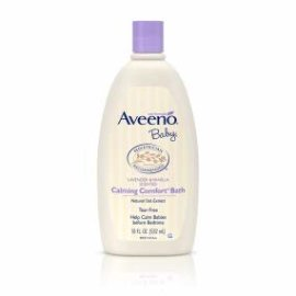 Amazon.com : Aveeno Baby Calming Comfort Bath with Relaxing Lavender & Vanilla Scents, Hypoallergenic & Tear-Free Formula, Paraben- & Phthalate-Free, 18 Fl Oz (Pack of 1) : Baby Bathing Body Washes : Beauty