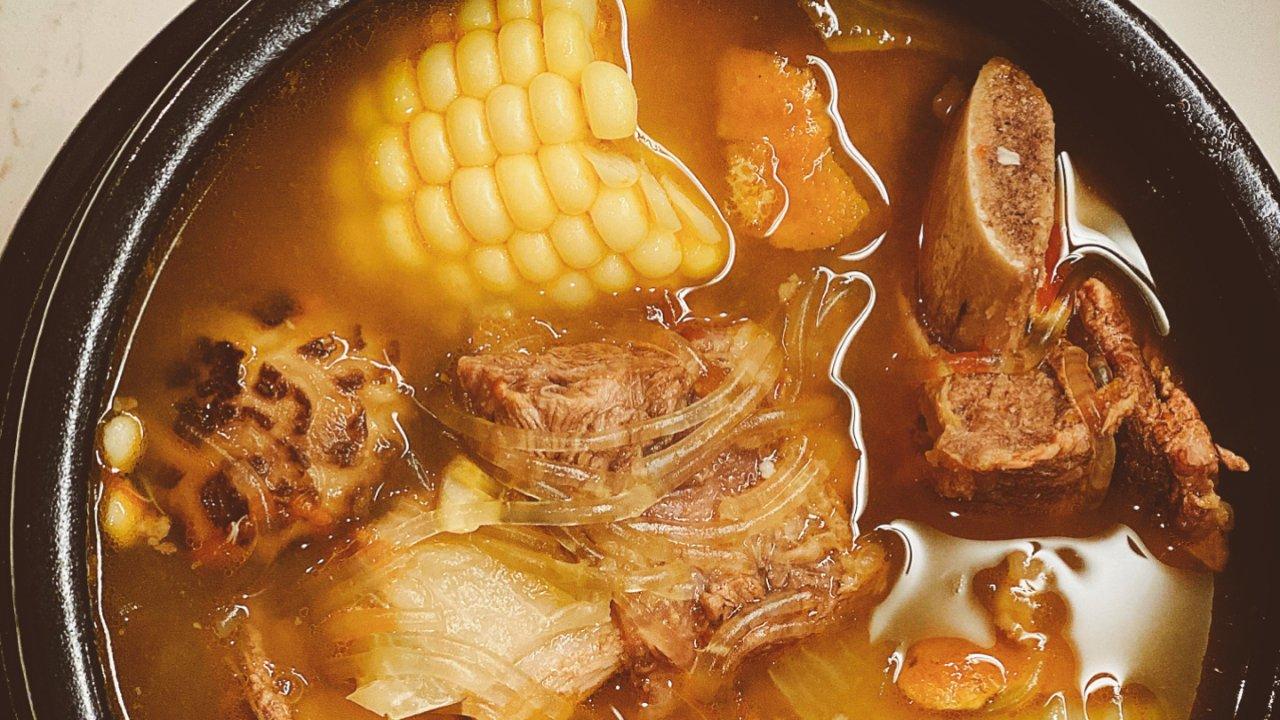 韩式牛仔骨养生汤