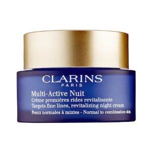 Multi-Active Night Cream - Normal to Combination Skin - Clarins | Sephora