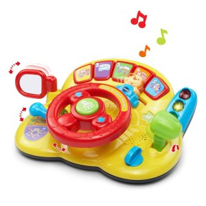$14.29(原价$39.99)VTech 宝宝汽车方向盘益智玩具