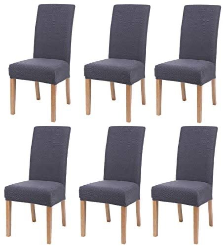 Smiry 餐厅座椅保护套 6件装