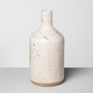 Jug Vase Speckled - White - Hearth & Hand™ with Magnolia : Target