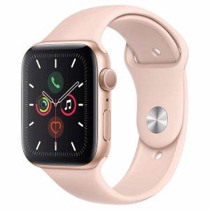 $384.99 玫瑰金配色Apple Watch Series 5 GPS 44mm 智能手表