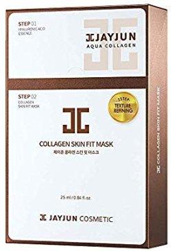 Amazon.com: JAYJUN Collagen Skin Fit Mask 25ml / 0.84 fl.oz. Pack of 10: Beauty