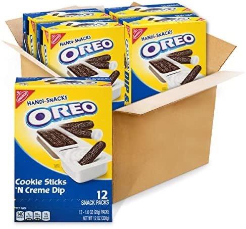OREO 奥利奥奶油蘸酱饼干 12盒 共48小包