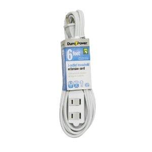 $0.94Dura Power 6ft. 16/2 Indoor Extension Cord